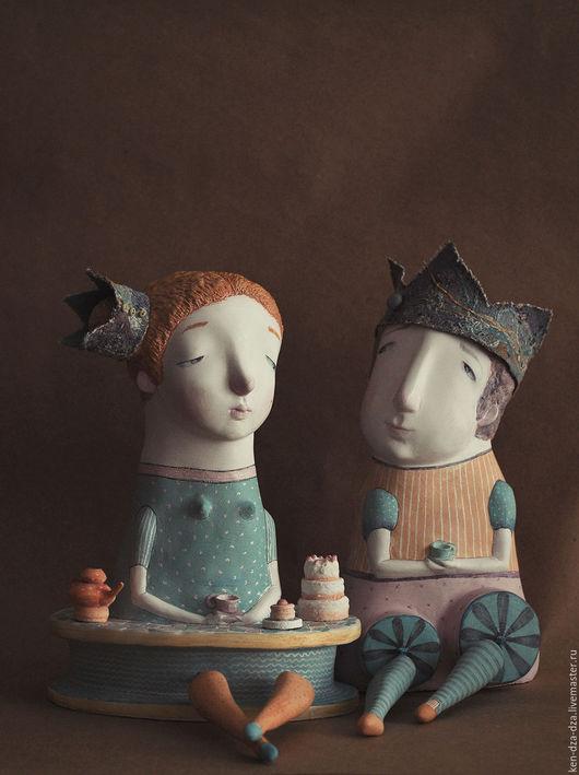Коллекционные куклы ручной работы. Ярмарка Мастеров - ручная работа. Купить Королевское чаепитие. Handmade. Комбинированный, кукла ручной работы