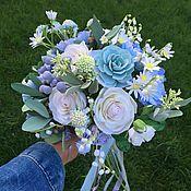 Свадебный салон ручной работы. Ярмарка Мастеров - ручная работа Букет невесты из полимерной глины. Handmade.