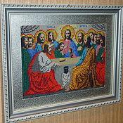 """Картины и панно ручной работы. Ярмарка Мастеров - ручная работа Картина """"Тайная вечеря"""". Handmade."""