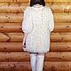 """Верхняя одежда ручной работы. Пальто вязанное """"Тычинка"""". OLGA'Z. Интернет-магазин Ярмарка Мастеров. Однотонный, пальто с кружевом, шерсть"""