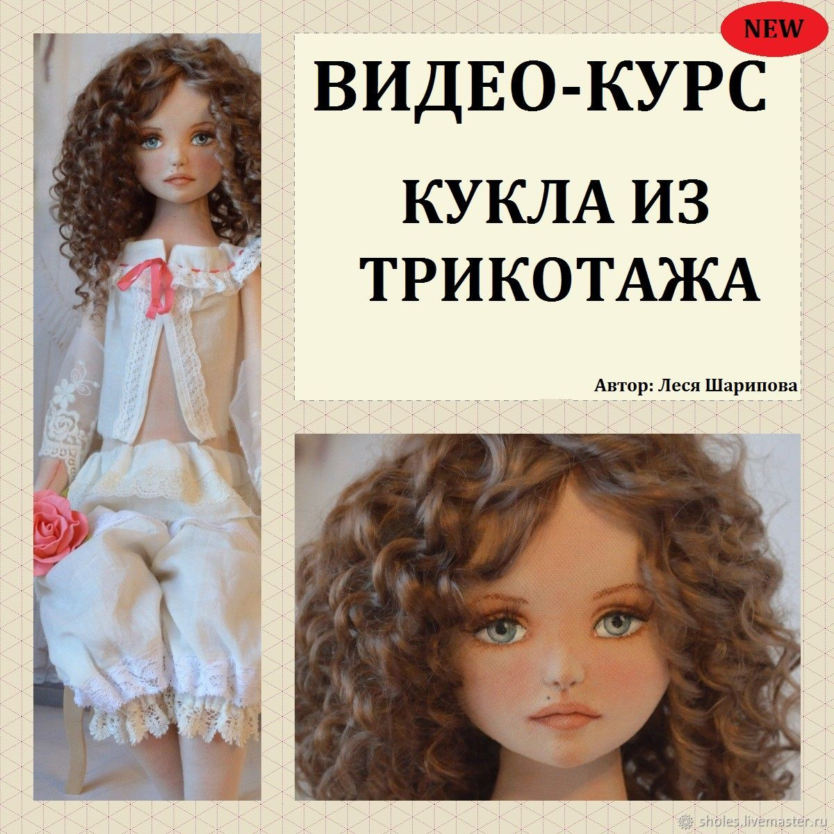 Video course: fabric doll, Educational materials, Tolyatti,  Фото №1