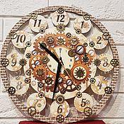 """Часы ручной работы. Ярмарка Мастеров - ручная работа Часы в стиле """"Стимпанк"""". Handmade."""
