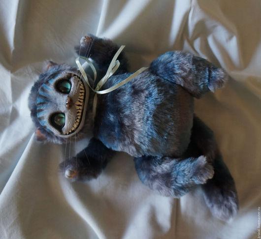 Куклы и игрушки ручной работы. Ярмарка Мастеров - ручная работа. Купить Чеширский кот. Handmade. Серый, алиса в стране чудес