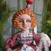Куклы и игрушки handmade. Livemaster - original item NEEDLEWOMAN textile doll. Handmade.