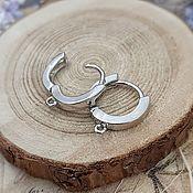 handmade. Livemaster - original item Shvenzy ringlets 15 mm color platinum (4066). Handmade.