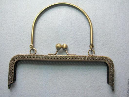 Другие виды рукоделия ручной работы. Ярмарка Мастеров - ручная работа. Купить Фермуар 18 см с металлической ручкой.. Handmade.