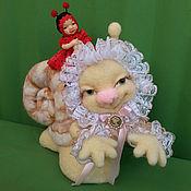 Куклы и игрушки ручной работы. Ярмарка Мастеров - ручная работа Уля. Handmade.
