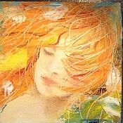 Картины и панно ручной работы. Ярмарка Мастеров - ручная работа Взгляд в свою душу. Handmade.