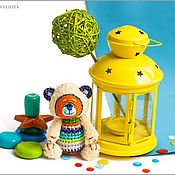 Куклы и игрушки ручной работы. Ярмарка Мастеров - ручная работа Позитивный Мишка. Handmade.