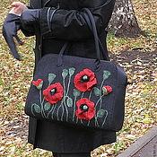 """Сумки и аксессуары ручной работы. Ярмарка Мастеров - ручная работа сумка """" Маки"""". Handmade."""