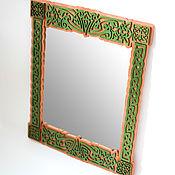 Для дома и интерьера ручной работы. Ярмарка Мастеров - ручная работа Зеркало Кельтские Орнаменты. Handmade.