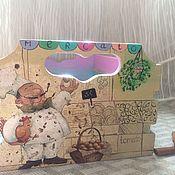 """Для дома и интерьера ручной работы. Ярмарка Мастеров - ручная работа Короб для кухни  """"Итальянские каникулы"""". Handmade."""