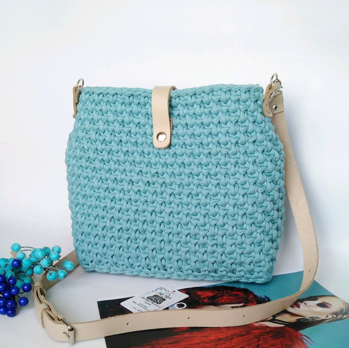 98a4114d44fe Купить Вязаная сумка
