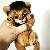 Куклы и игрушки handmade. Livemaster - original item lion. Collectible toy, Teddy lion. Handmade.