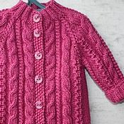 Работы для детей, handmade. Livemaster - original item the sweater I knitted Princess. Handmade.