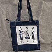 """Сумки и аксессуары ручной работы. Ярмарка Мастеров - ручная работа сумка  """"Ретро дамы"""". Handmade."""