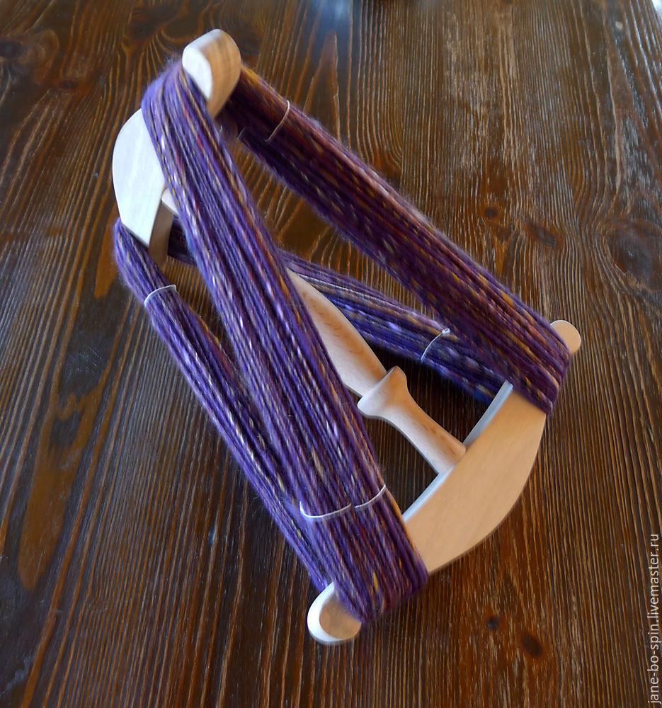 Субкультуры ручной работы. Ярмарка Мастеров - ручная работа. Купить Нидди нодди (мотовило, моталка) для пряжи. Handmade. Пряжа, веретено