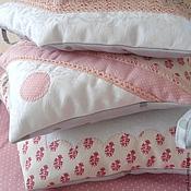 Для дома и интерьера handmade. Livemaster - original item Bumpers for cot pillow City-houses. Handmade.