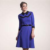 Одежда ручной работы. Ярмарка Мастеров - ручная работа 159: платье повседневное, платье офисное, платье на работу. Handmade.