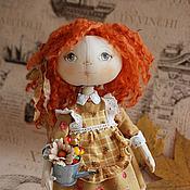 Куклы и игрушки ручной работы. Ярмарка Мастеров - ручная работа Осенняя хозяюшка. Handmade.