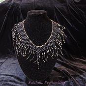 Украшения handmade. Livemaster - original item Necklace black No. №2. Handmade.