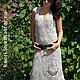Платья ручной работы. Ярмарка Мастеров - ручная работа. Купить платье ОСКАР 2. Handmade. Серый, хлопок с вискозой