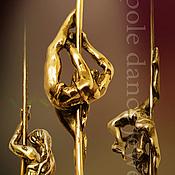 """Украшения ручной работы. Ярмарка Мастеров - ручная работа Подвески """"Pole Dance"""". Handmade."""