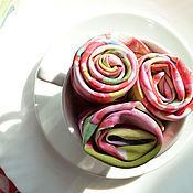Для дома и интерьера handmade. Livemaster - original item Tablecloth and 6 Napkins, Floral Print Peonies Tablecloth and Napkins. Handmade.