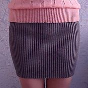 Одежда handmade. Livemaster - original item The skirt noodles