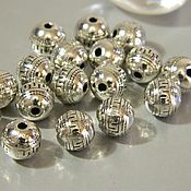 Материалы для творчества handmade. Livemaster - original item Separation beads for jewelry, 9 mm. ( B09). Handmade.