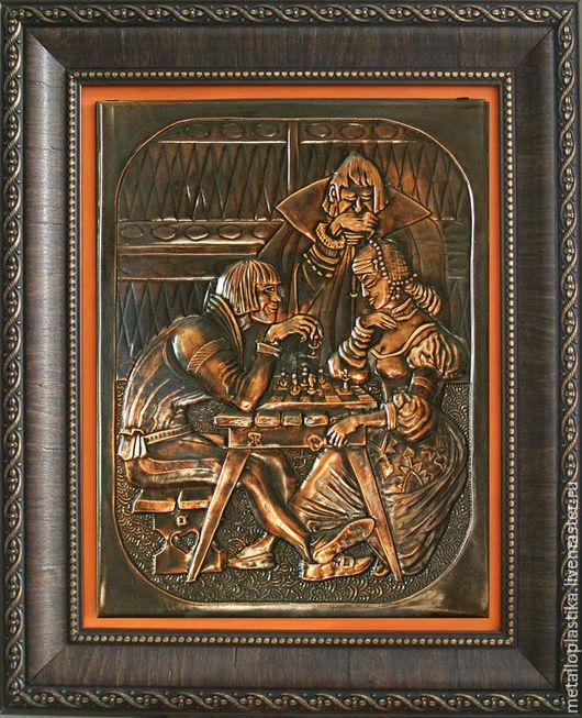Фантазийные сюжеты ручной работы. Ярмарка Мастеров - ручная работа. Купить ВЕЧНАЯ ИГРА. Handmade. Металлопластика, интерьерное украшение