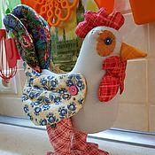 Куклы и игрушки ручной работы. Ярмарка Мастеров - ручная работа Петух из хлопка. Handmade.