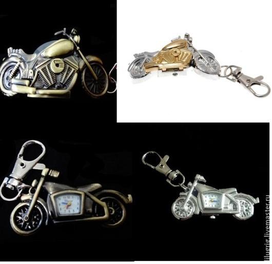 """Часы ручной работы. Ярмарка Мастеров - ручная работа. Купить Часы-брелок """"Мотоцикл"""". Handmade. Часы, подарок мальчику"""