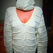Одежда handmade. Livemaster - original item winter wonderland pullover. Handmade.