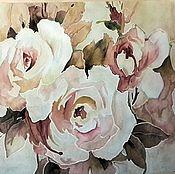 Картины ручной работы. Ярмарка Мастеров - ручная работа Эдема лучшие цветы. Handmade.