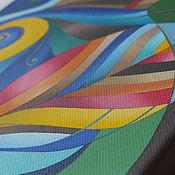 """Картины и панно ручной работы. Ярмарка Мастеров - ручная работа """"Перо Жар-птицы"""" картина маслом 20х30 (60х100). Handmade."""