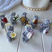 """Для дома и интерьера ручной работы. Ярмарка Мастеров - ручная работа Кольца для салфеток """"Мишки МиМиМишки"""". Handmade."""