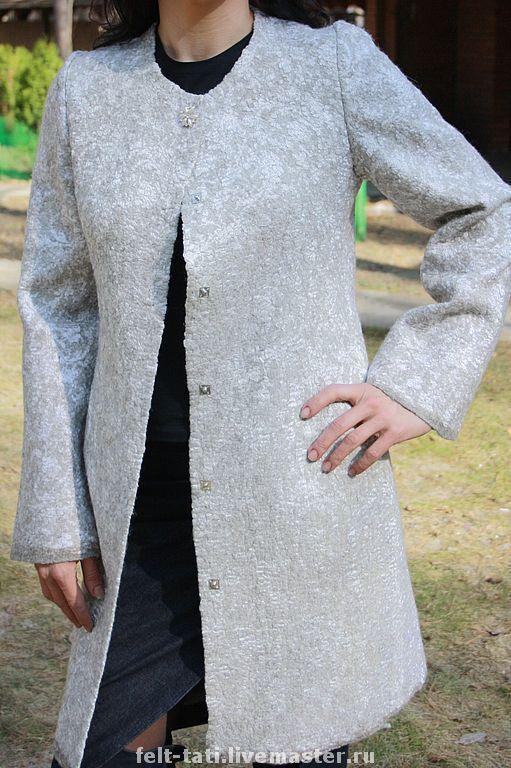Верхняя одежда ручной работы. Ярмарка Мастеров - ручная работа. Купить Пальто Сны о Париже. Handmade. Авторское пальто, абстрактный