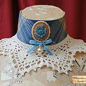 Аксессуары ручной работы. Ярмарка Мастеров - ручная работа Голубая роза. Handmade.