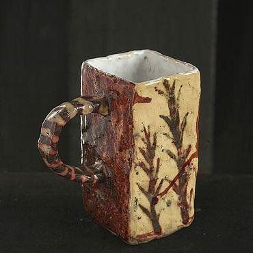 Посуда ручной работы. Ярмарка Мастеров - ручная работа Бокал раку Herbarium. Handmade.