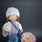 Куклы и игрушки ручной работы. Ярмарка Мастеров - ручная работа Текстильная кукла Lisa. Handmade.