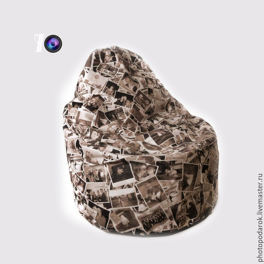 Текстиль, ковры ручной работы. Ярмарка Мастеров - ручная работа. Купить Кресло с фотографиями. Handmade. Разноцветный, кресло, подарок с фото