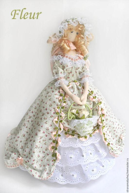 Коллекционная кукла, Страна малышей, Ярмарка мастеров корейский тряпиенс с ножками, будуарная кукла.