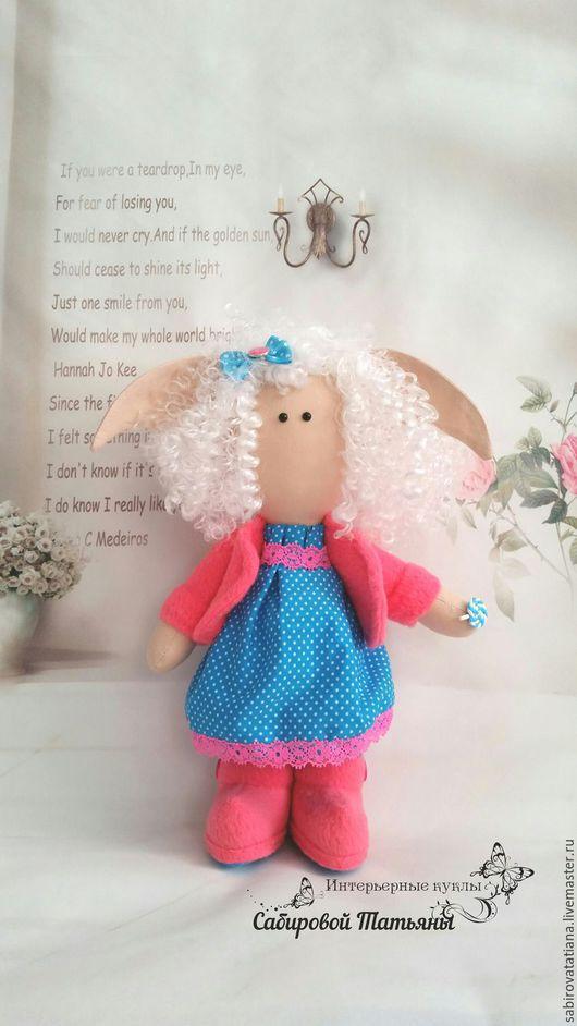 Коллекционные куклы ручной работы. Ярмарка Мастеров - ручная работа. Купить Интерьерная кукла из ткани. Handmade. Комбинированный, кукла в подарок