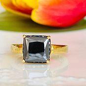 Украшения handmade. Livemaster - original item 18P diamond Ring black