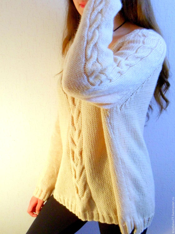 Купить весенний свитер женский