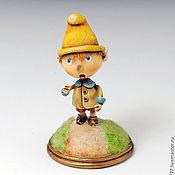 Куклы и игрушки ручной работы. Ярмарка Мастеров - ручная работа Самый маленький гном. Handmade.