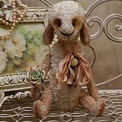 """Куклы и игрушки ручной работы. Ярмарка Мастеров - ручная работа Овечка-теддик """"Лоретт"""". Handmade."""