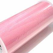 Материалы для творчества ручной работы. Ярмарка Мастеров - ручная работа Розовый (pink) нейлоновый фатин в роллах. Handmade.
