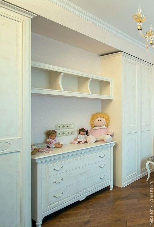 комод, шкафы на заказ из дерева, мебель детская